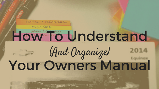 How to understand and organize your owners manual chicmoto owners manual publicscrutiny Images