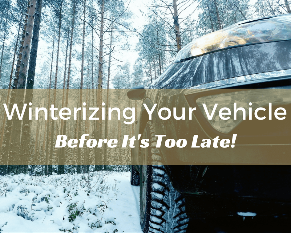 Winterizing Your Vehicle