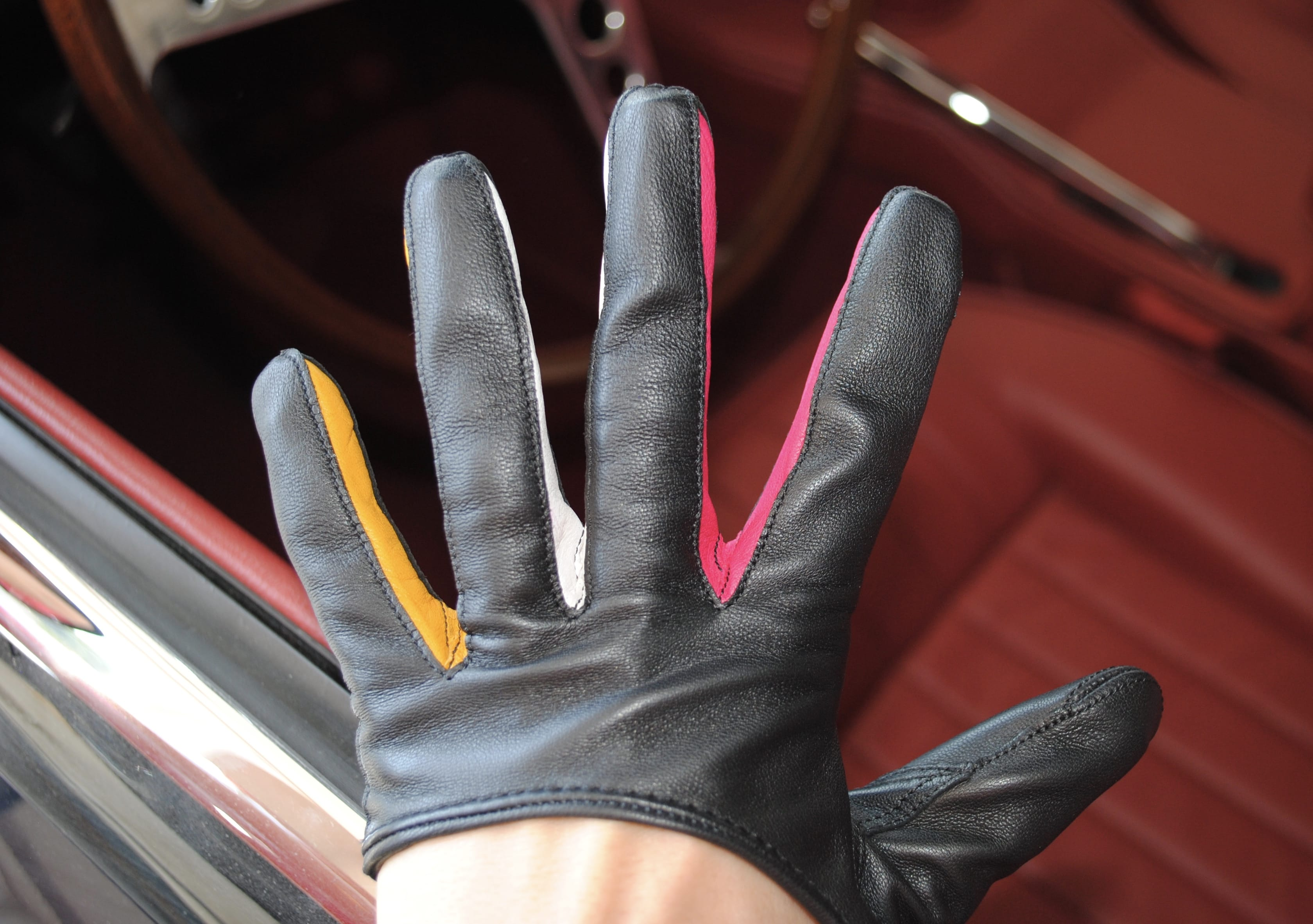 Leather driving gloves from drive - I Ve Always Had My Tan Leather Ones To Match My Interior Leather Not Sure Where They Are From But They Are Perfect For The Summer Because These Gloves Are