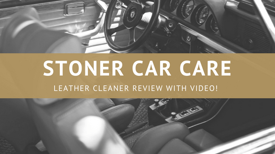 stoner car care leather cleaner