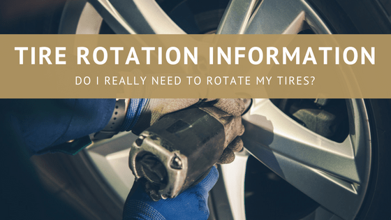 tire rotation information